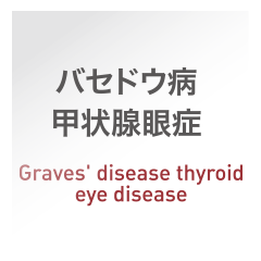 バセドウ病甲状腺眼症:Graves' disease thyroid eye disease